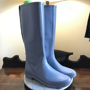 Stuart Weitzman The Griffin Light Blue Rain Boots